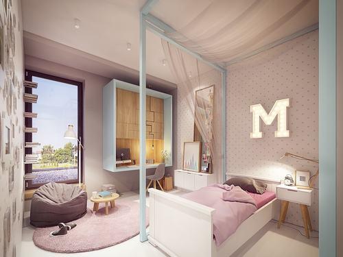 Thiết kế căn hộ hiện đại dành cho hộ gia đình