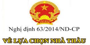 Nghị định 63/2014/NĐ-CP ngày 26/6/2014