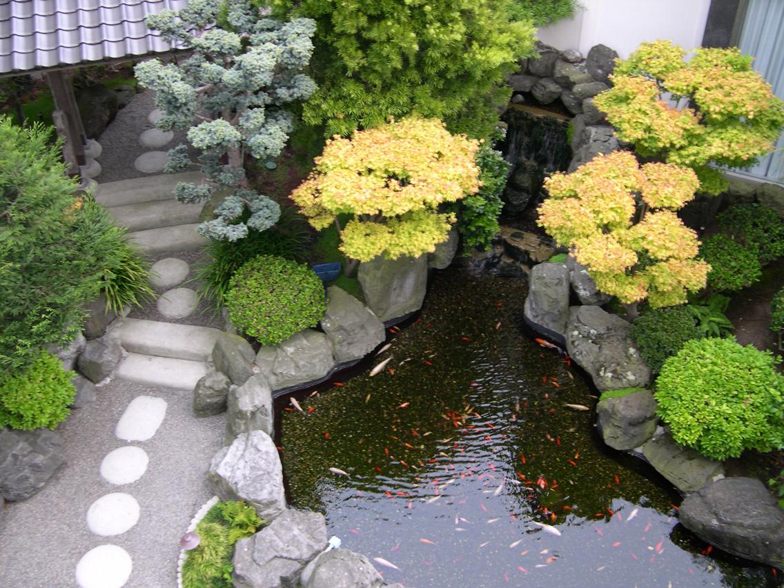 Cách bài trí nước hợp phong thủy cho sân vườn